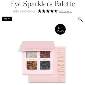 NWT eye sparklers palette from beautycounter